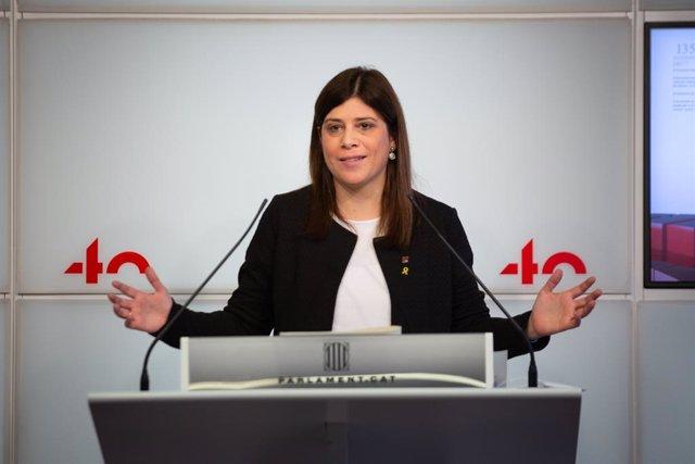 La portaveu de Junts, Gemma Geis (Arxiu)