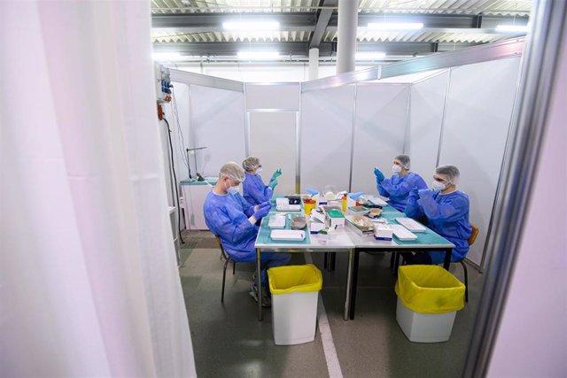 Vacunación contra el coronavirus en Dresde