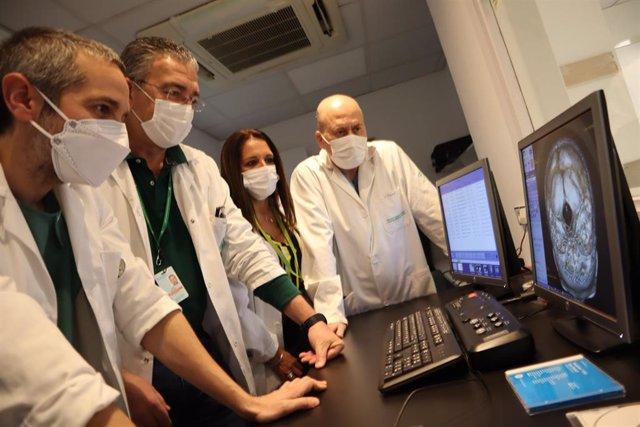 Servicio de Neurorradiología del Hospital Virgen de las Nieves