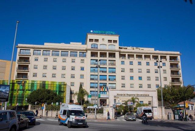 Archivo - El Hospital Regional de Málaga.
