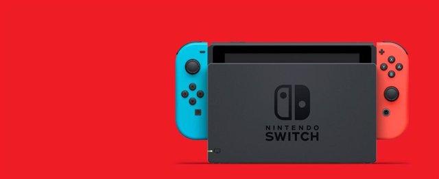Nintendo Switch con mandos Joy-Con
