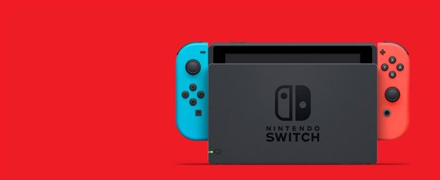 Nintendo Switch con mandos Joy-Con originales