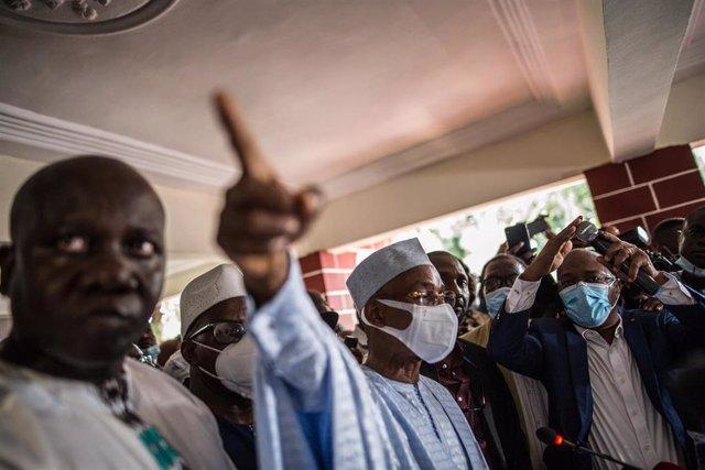Archivo - El líder opositor de Guinea, Cellou Dalein Diallo