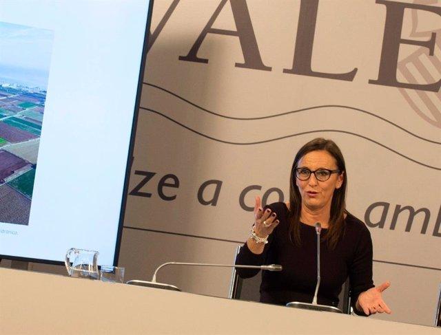 La vicepresidenta de la Diputación de Valencia y presidenta del Consorcio Provincial de Bomberos, Maria Josep Amigó, en una imagen reciente.