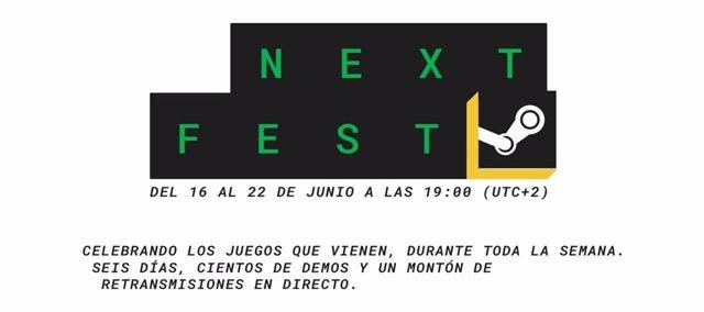 Next Fest de Steam.