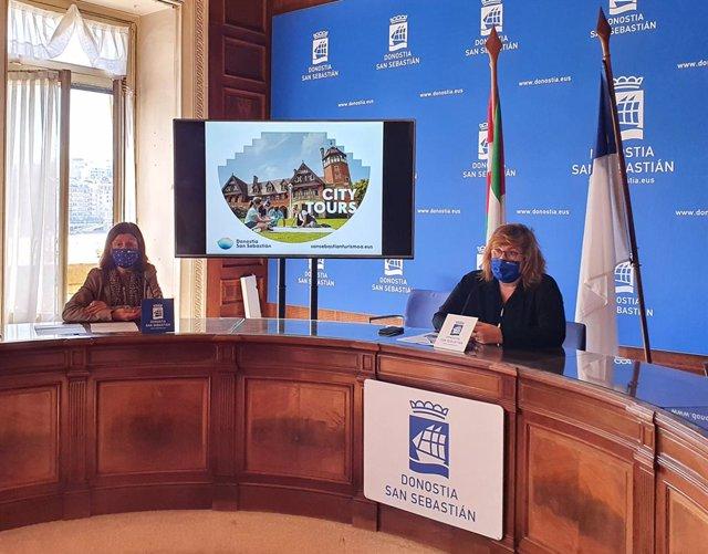 Rueda de prensa de San Sebastián Turismo.