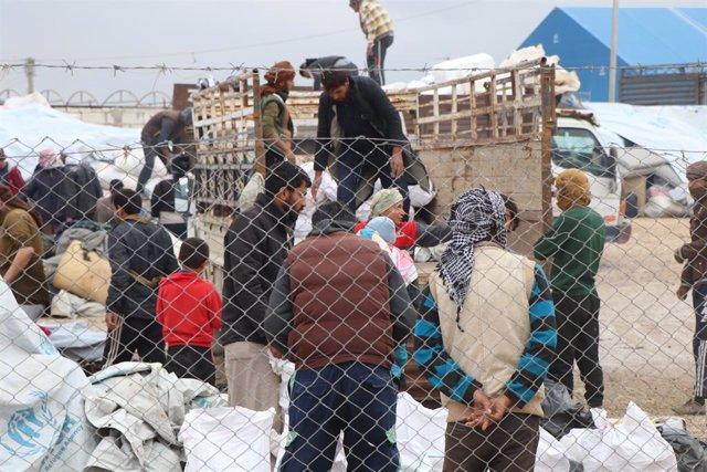 Archivo - Campamento de Al Hol, en Siria.