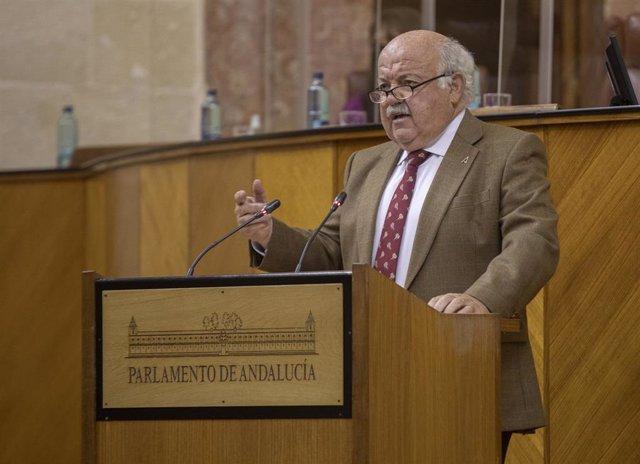 El presidente de Salud y Familias, Jesús Aguirre