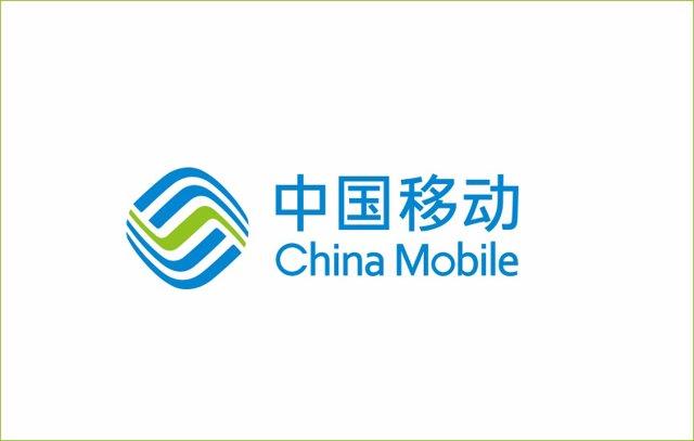 Archivo - Logo de la teleco China Mobile.
