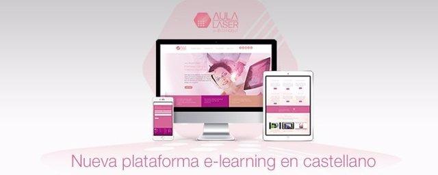 Plataforma de e-learning para profesionales médico estéticos