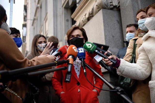 La vicepresidenta primera del Govern espanyol, Carmen Calvo (Arxiu)