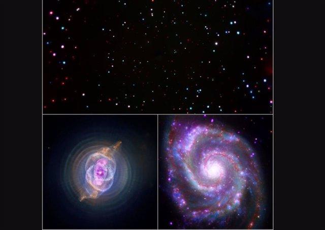 Tres nuevas sonificaciones de imágenes de telescopios de la NASA