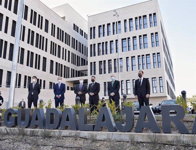 Inauguración del Palacio de Justicia de Guadalajara