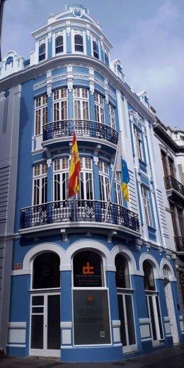 Archivo - Sede de la Diputación del Común en Santa Cruz de La Palma