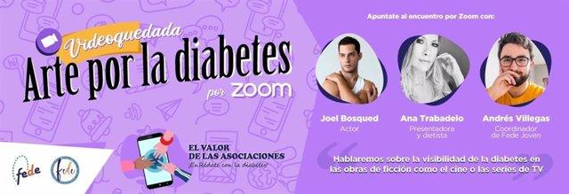 Arte por la diabetes.