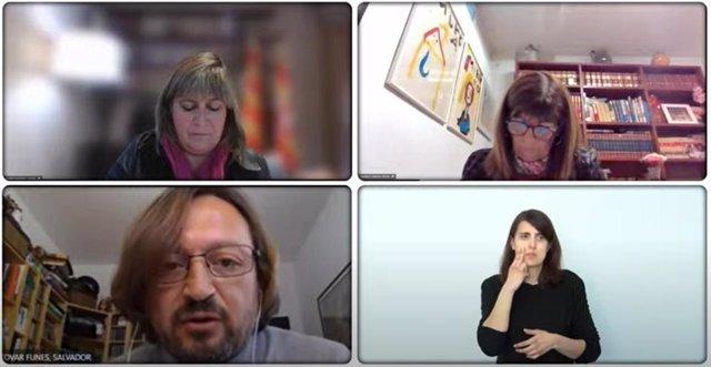 Pleno telemático de la Diputación de Barcelona.