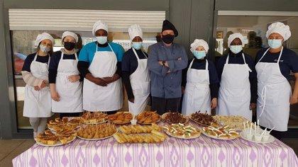 Gastronomía.- Hasta 19 personas finalizan dos cursos de formación de Endesa y Espiral