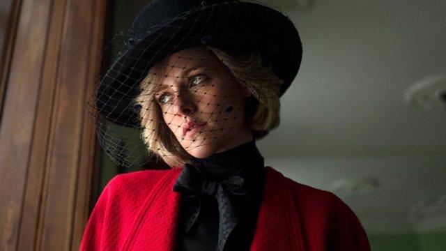 Archivo - Primera imagen de Kristen Stewart como Diana de Gales en Spencer