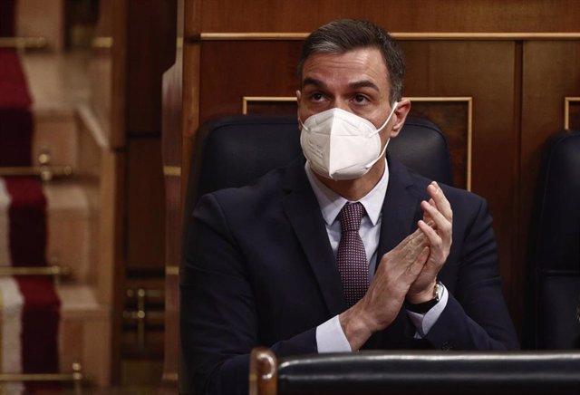 El presidente del Gobierno, Pedro Sánche