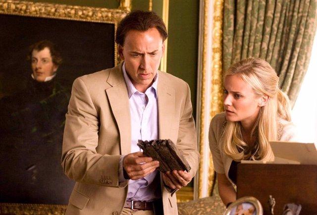 Nicolas Cage en La Búsqueda 2