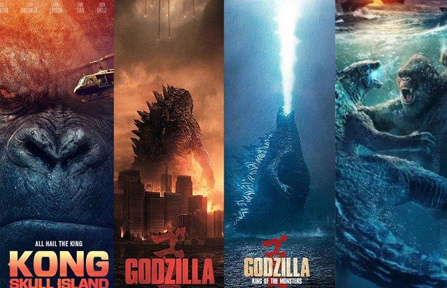 Godzilla vs Kong: Todas las películas del MonsterVerse en orden cronológico