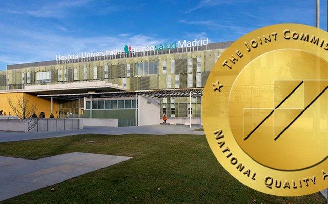 Archivo - El Hospital Universitario Quirónsalud Madrid consigue el sello dorado de la Joint Commission Internacional