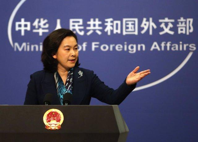 La portavoz del ministerio de exteriores chino Hua Chunying
