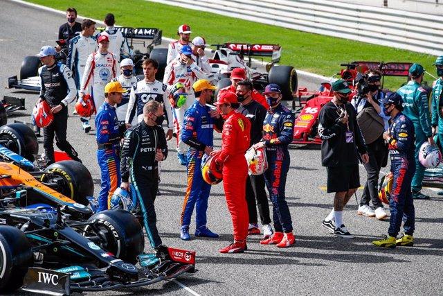 Pilotos del Mundial 2021 de Fórmula 1