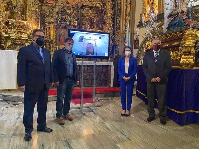 Presentación del tour virtual en la Semana Santa de Salamanca.