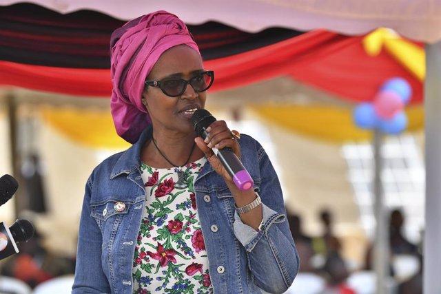 La directora ejecutiva de ONUSIDA, Winnie Byanyima