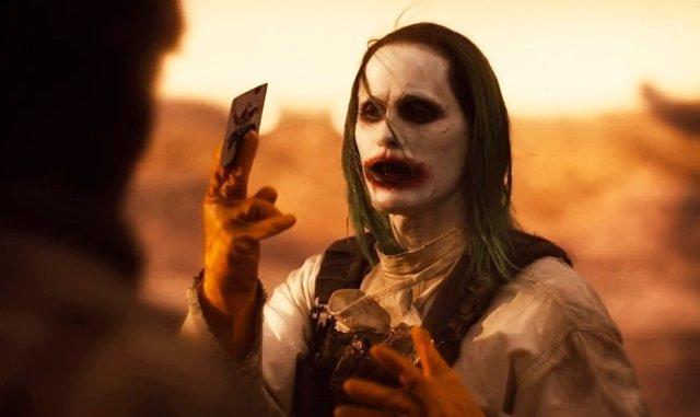 Joker de Jared Leto en la secuencia Knightmare del Snyder Cut de Liga de la Justicia