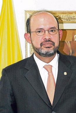 El expresidente del Tribunal Supremo de Colombia Francisco Ricaurte