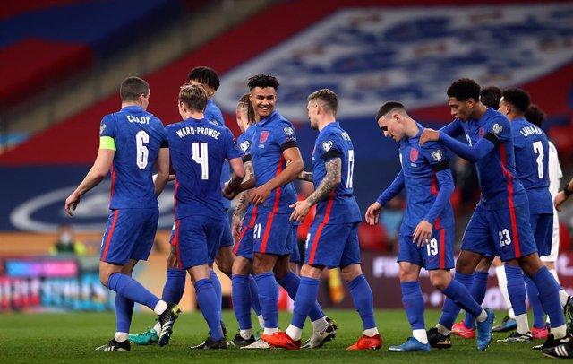 Inglaterra en la fase de clasificación para Catar 2022