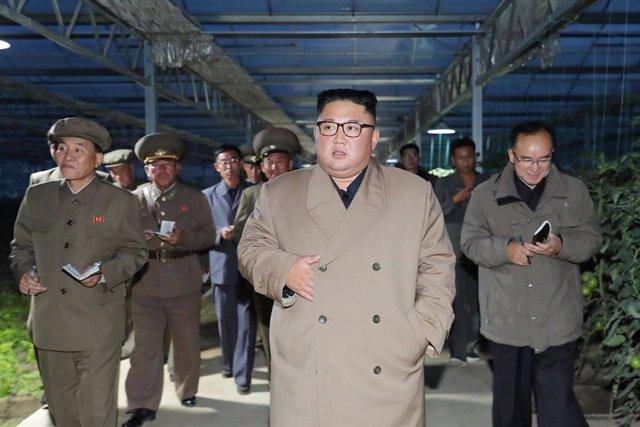 Archivo - El líder de Corea del Norte, Kim Jong Un