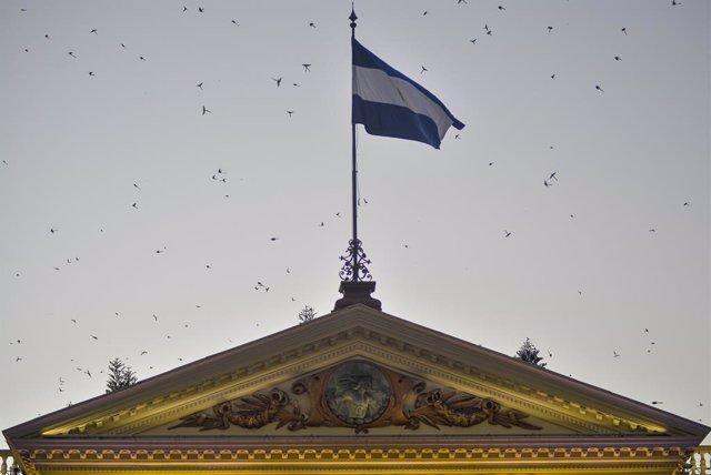 Imagen del Parlamento de El Salvador.