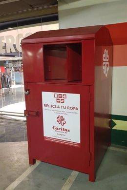 Ndp El Corte Inglés Recoge 240.000 Kg De Ropa Usada Para Entregar A Cáritas Y Darle Un Nuevo Uso