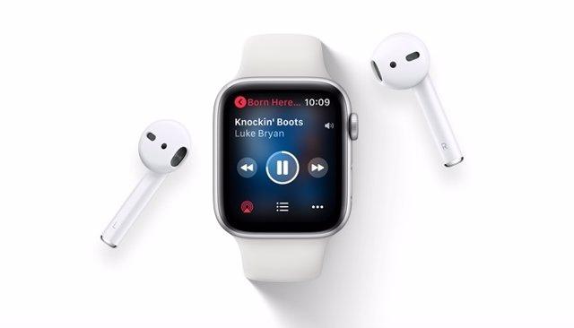 Apple Music en Apple Watch