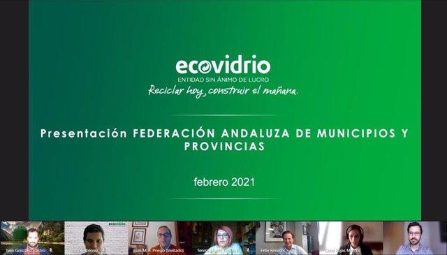 FAMP y Ecovidrio refuerzan su colaboración para fomentar la economía circular mejorando el reciclaje de vidrio