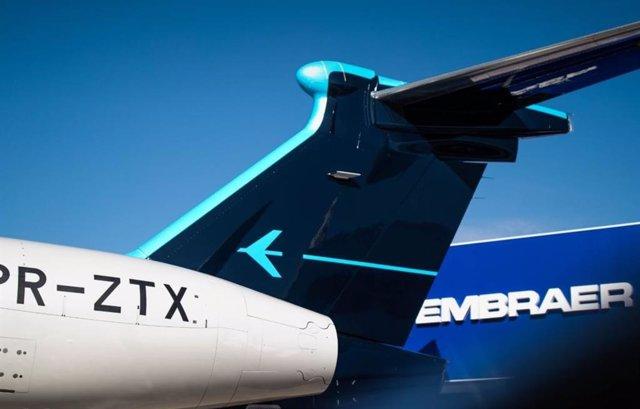 Archivo - Avión de Embraer