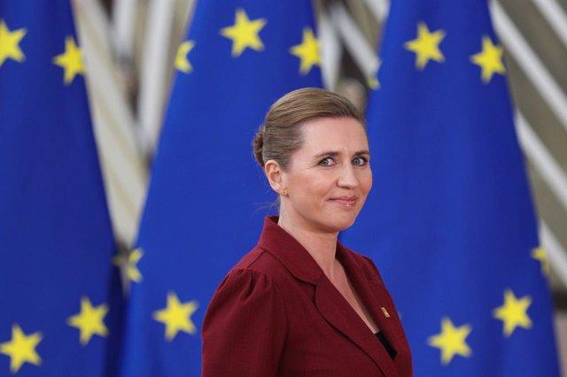 Archivo - Mette Frederiksen, primera ministra de Dinamarca