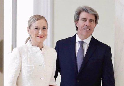 Los expresidentes Cifuentes y Garrido recibirán la Medalla de Oro de la Comunidad de Madrid