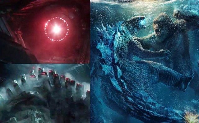 Todos los titanes y monstruos de Godzilla vs Kong
