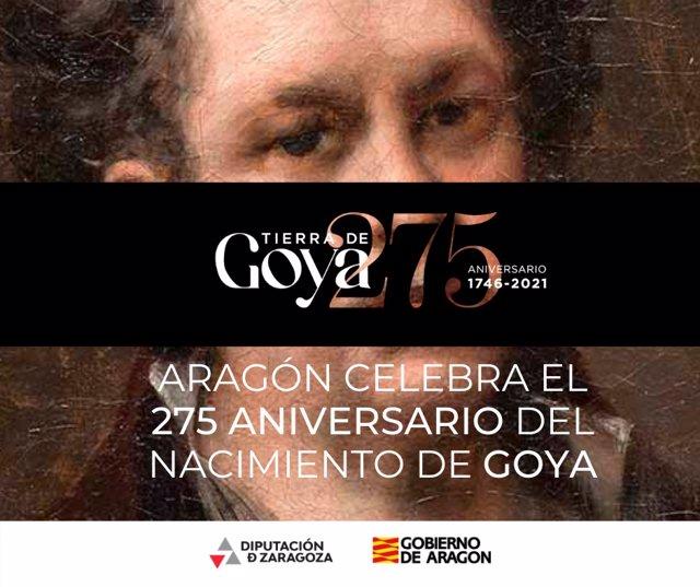 Los Reyes presidirán el lunes el acto de conmemoración del 275 aniversario de Goya en Fuendetodos.
