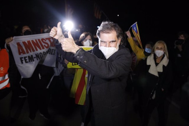L'expresident d'Òmnium Cultural, Jordi Cuixart