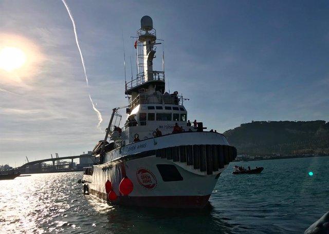 Archivo - El buque de rescate 'Open Arms'