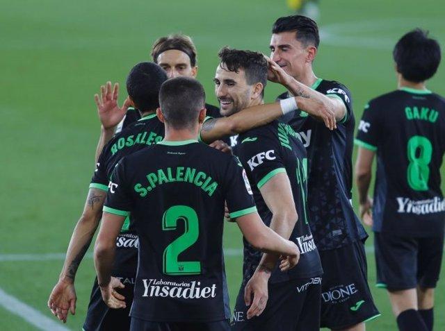 El Leganés saca un punto en su visita al Almería
