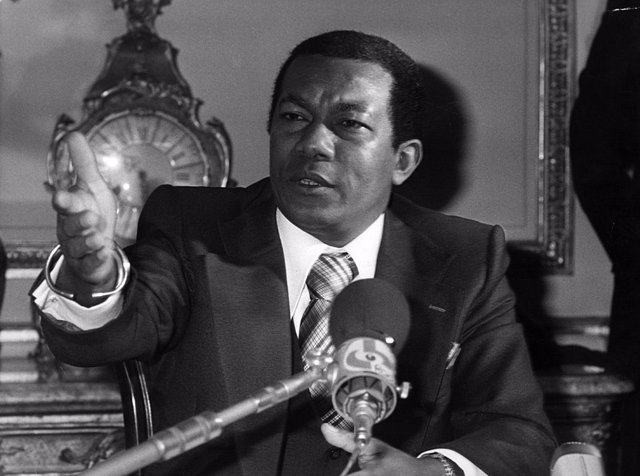 Archivo - El expresidente de Madagascar, Didier Ratsiraka