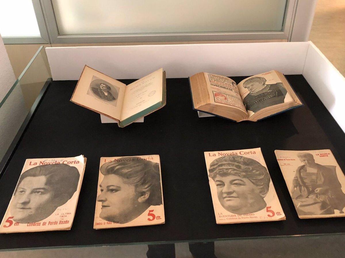 La Biblioteca Histórica Municipal de Madrid acoge una exposición de las  obras que conserva de Emilia Pardo Bazán