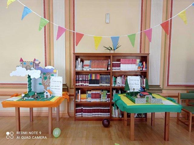 Exposiciones por el Día del Libro Infantil