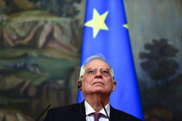 Archivo - El Alto Representante de la UE para la Política Exterior, Josep Borrell